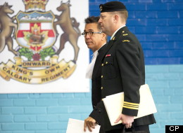 Calgary soldier Maj. Darryl Watts has avoided jail after being convicted in relation to a fatal training accident in Afghanistan. (CP)