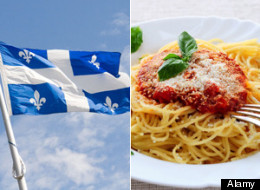 The Quebec government says its language watchdog was a little too aggressive in chasing after a restaurant for excessive use of Italian on its menu. (Alamy)