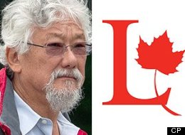 Environmental crusader David Suzuki is throwing his high-profile weight behind Joyce Murray's bid to become leader of the federal Liberal party. (CP)