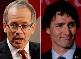 Liberal leadership hopeful George Takach has withdrawn from the race and thrown his support to front-runner Justin Trudeau. (CP)