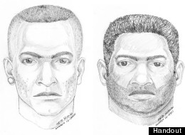 Surrey RCMP are on the lookout for two suspects wanted in relations to a violent assault of a sex worker on Oct. 18, 2012. (Handout)