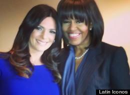 Bárbara Bermudo junto a Michelle Obama