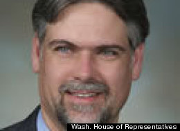 Washington state Rep. Ed Orcutt said bike riders pollute the environment by breathing carbon dioxide. (Photo Washington House of Representatives)