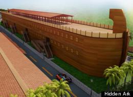 Hidden Ark: Construyen réplica del Arca de Noé cerca de Miam.