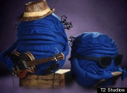The 'Blue Balls Blues' is brought to you by puppet testicles Rusty and Vern.