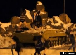 Harlem Shake on a WWII memorial tank may have taken the fun too far.