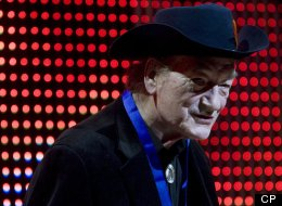Canadian music legend Stompin` Tom Connors, seen at the 20th Annual SOCAN Awards gala, has died at the age of 77. THE CANADIAN PRESS/Darren Calabrese