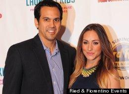 Miami Heat coach Erik Spoelstra's girlfriend is reportedly former Heat Dancer Nikki Sapp, Gossip Extra reports.