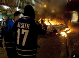 More than 100 people have plead guilty with trial for their participation in Vancouver's Stanley Cup riot in June 2011. (AP)