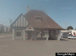 The Gaffey's Fast Lube location where a shooting broke out on Wednesday, taken via Google Street View.