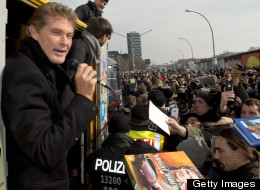 David Hasselhoff wants to stop plans to move a section of the Berlin Wall.
