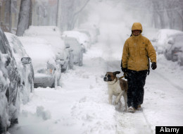 Manitoba, Eastern Ontario and Southern Quebec will look nothing like spring as winter storms drop heavy snow, freezing rain, ice pellets and high winds to these provinces. (Alamy)