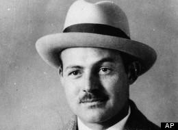 Ernest Hemingway wears