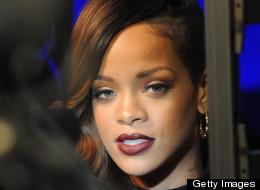 Authorities found marijuana on a tour bus for Rihanna Wednesday.