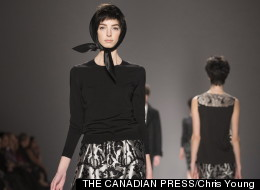 Joe Fresh Fall 2013 collection at Toronto Fashion Week