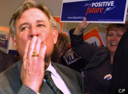 Former Alberta Premier Ralph Klein, bombastic politician and icon, has died. (CP)