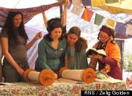 Torah service during Passover in the Desert 2011. Photo courtesy Zelig Golden