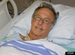 Michael Lovatt's life was saved with the help of Vancouver General Hospital doctors after he was bitten by a poisonous snake in Costa Rica. (VGH)