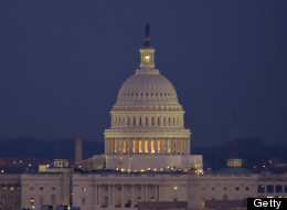 U.S. Capitol early in the evening on February 7, 2012. (Photo by Bill Ingalls/NASA via Getty Images)