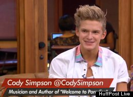 Australian singer Cody Simpson announced Monday on HuffPost Live that he would be auctioning off a chance to be his date to prom.