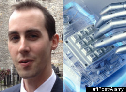 Former Conservative Party staffer Michael Sona has been charged by Elections Canada with interfering in an election in connection to robocalls in Guelph. (HuffPost/Alamy)