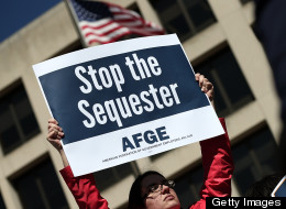 Sequestration is just beginning to be felt across the country. (Photo by Win McNamee/Getty Images)