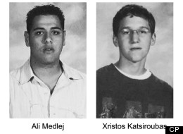 These photos of Ali Medlej and Xristos Katsiroubas are reproduced from the London South Collegiate Institute's 2005-06 yearbook, in London Ont. on Tuesday April 2, 2013. THE CANADIAN PRESS/Metro News London