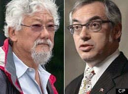Tony Clement says David Suzuki and other environmentalists are again standing in the way of building public support for pipelines. (CP)