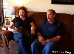 Elizabeth and Dante Corso were reunited with their cat Bandit more than 10 years after he disappeared in Las Vegas.