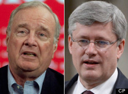 Former prime minister Paul Martin blasted Stephen Harper's First Nations policies at the Liberal leadership mini-convention on Saturday. (CP)