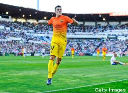 Barcelona goleó al Zaragoza