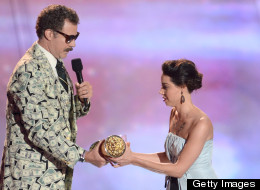Aubrey Plaza was ejected from the MTV Movie Awards after this stunt.