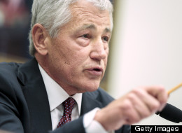 Defense Secretary Chuck Hagel has canceled the Distinguished Warfare Medal. (Photo by T.J. Kirkpatrick/Getty Images)