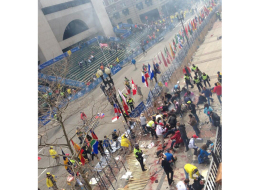 Police are investigating an explosion that went off at the finish line of the Boston Marathon shortly before 3:00 p.m., Monday.