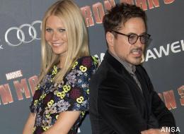 Gwyneth Paltrow  e Robert Downey Jr