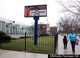 If the school district's plans for consolidations go through, Mollison Elementary School in Bronzeville would likely be classified as