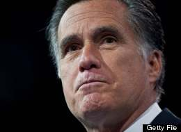 Former US Republican presidential candidate Mitt Romney speaks at the Conservative Political Action Conference (CPAC) in National Harbor, Maryland, on March 15, 2013. (NICHOLAS KAMM/AFP/Getty Images)