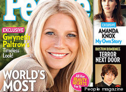 Gwyneth Paltrow is People Magazine's 2013 Most Beautiful Woman
