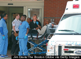Few will even hazard a guess as to what the total medical bill will be for a tragedy that killed three people and wounded more than 270. JIM DAVIS/THE BOSTON GLOBE VIA