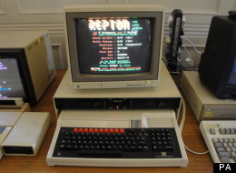 BBC Micro made by Acorn at the computer lab at the University of Cambridge