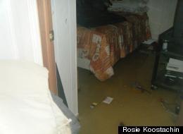 Attawapiskat is wallowing in a  backed-up sewage system. Rosie Koostachin