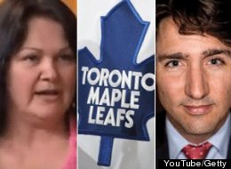 What began as a light-hearted statement from a Tory MP about the Toronto Maple Leafs' return to the NHL playoffs promptly turned into a political attack in the House on Wednesday. (YouTube/Getty)