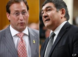 Former federal minister Peter Penashue will be right back in the Conservative cabinet if he wins next week's byelection in Labrador, Defence Minister Peter MacKay says. (CP)