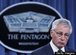 U.S. Secretary of Defense Chuck Hagel expressed