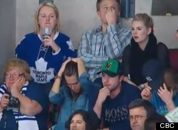 Elisha Cuthbert's eye-roll in April Reimer's general direction at the Boston/Toronto hockey game on May 8 stole the spotlight.