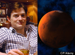 Andrew Rader has always wanted to be an astronaut and he's ready to do anything to get into space — even spend the rest of his life on Mars. (CP/Alamy)