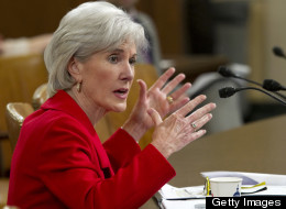 Health and Human Service Secretary Kathleen Sebelius testifies at a House Ways and Means committee hearing on President Obama's FY2014 Budget proposal. (Chris Maddaloni/CQ Roll Call)