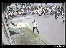 Imagen del hombre que disparó a los participantes en un desfile por el Día de la Madre en New Orleans.
