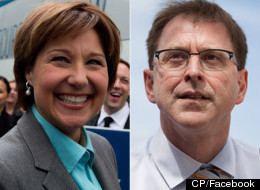 B.C. Liberal Leader Christy Clark won Tuesday's election despite polls suggesting a NDP sweep. (CP)