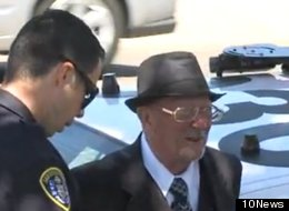 Dale Jenkins, 78, is accused of robbing a bank on Monday. He told both a TV reporter and a judge that he is guilty of the crime.